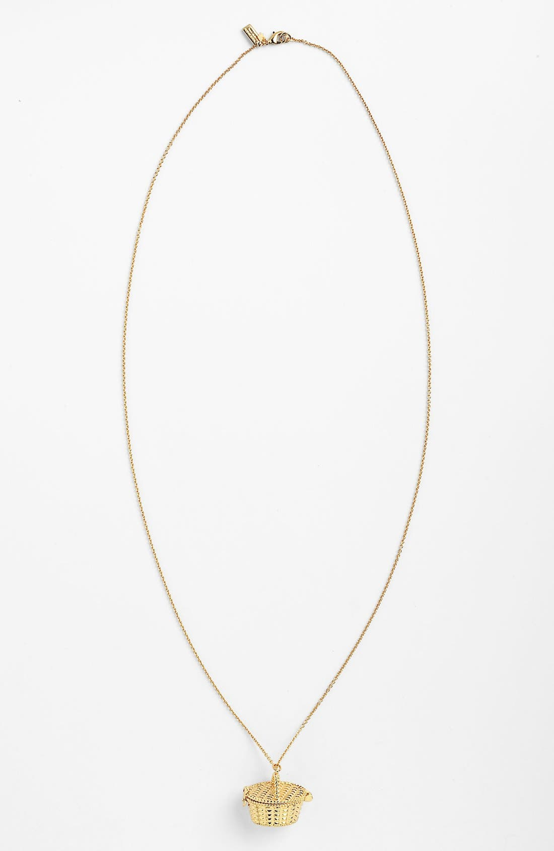 Alternate Image 1 Selected - kate spade new york long pendant necklace