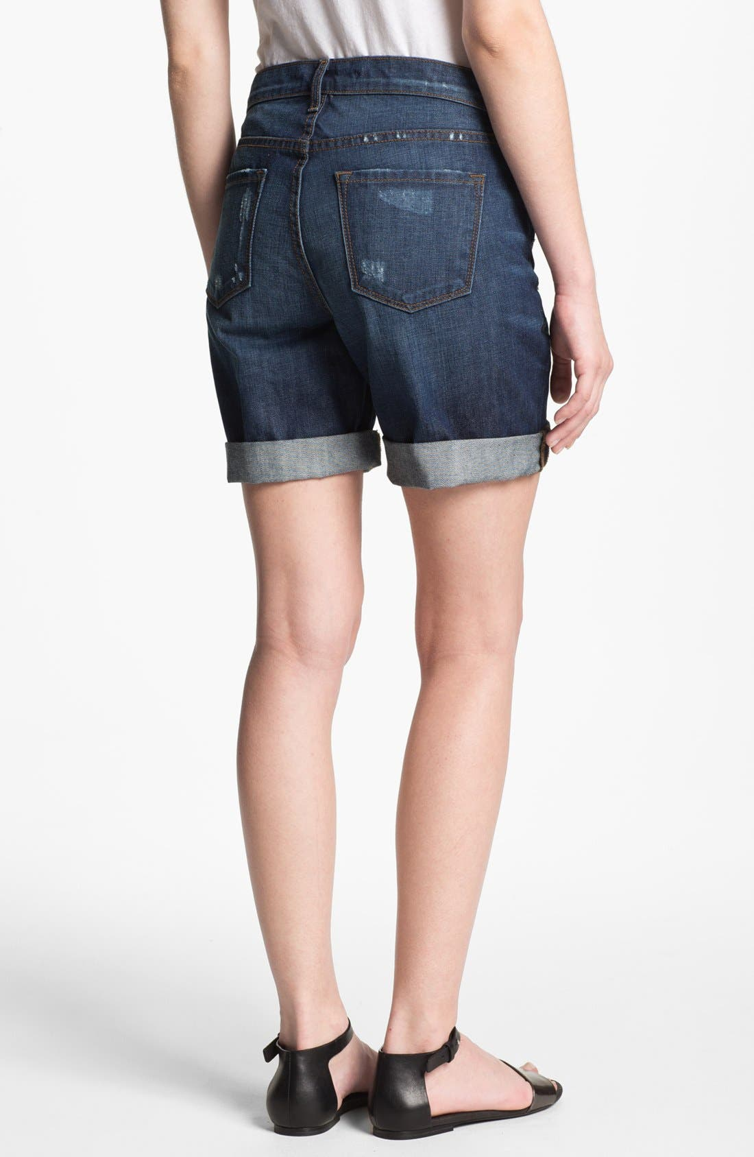Alternate Image 2  - J Brand 'Nash' Destroyed Denim Shorts (Synthesis)