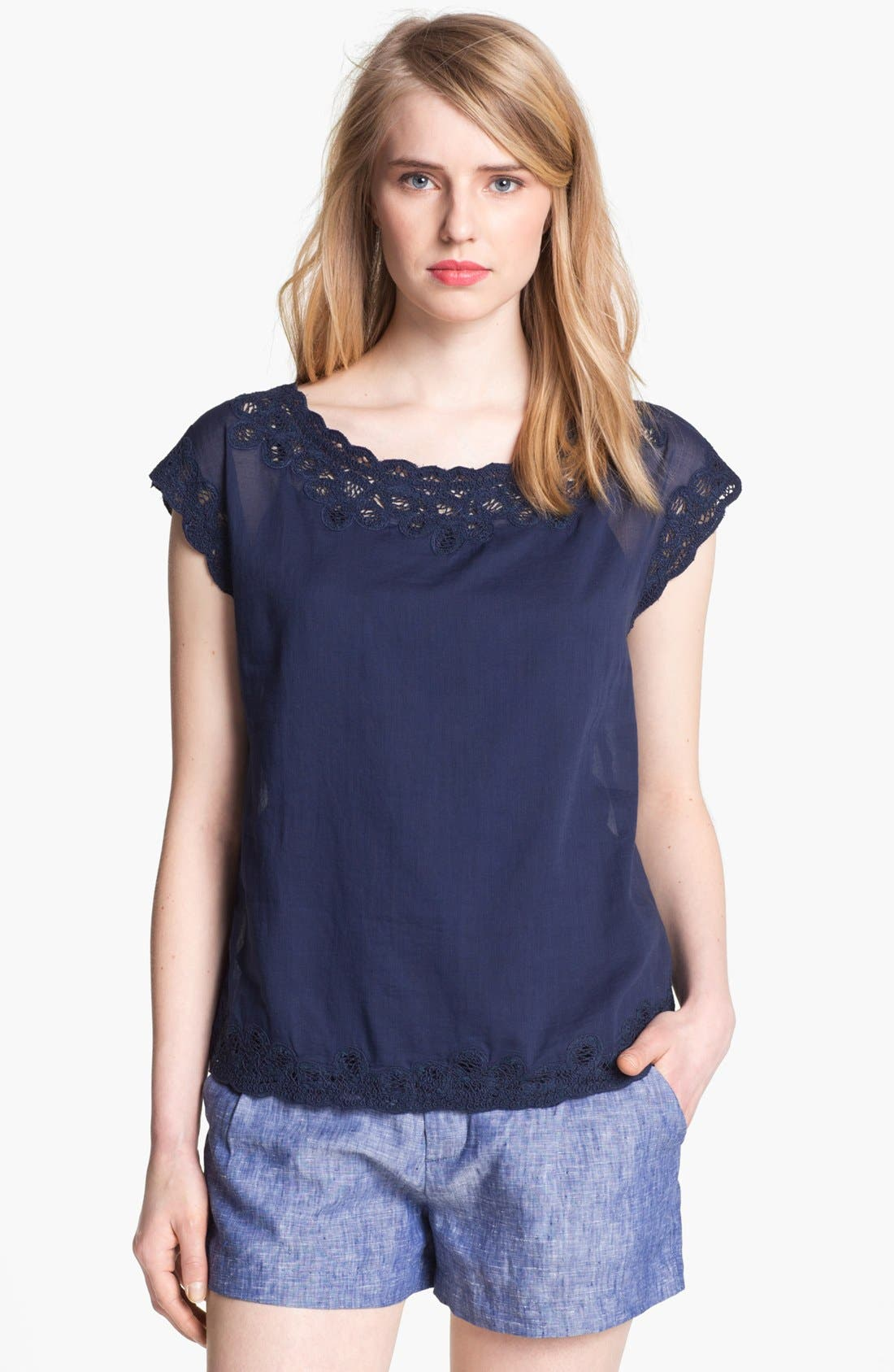 Main Image - Joie 'Belmar' Lace Top