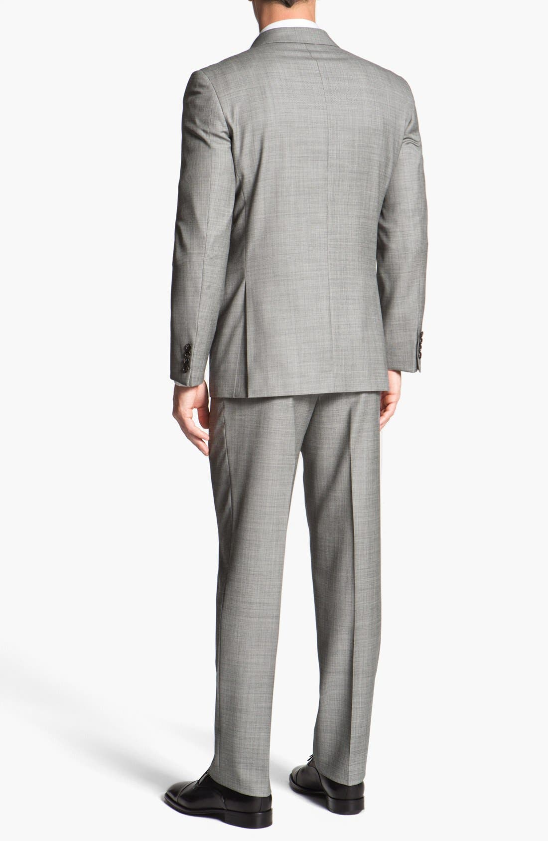 Alternate Image 3  - Joseph Abboud 'Profile' Trim Fit Wool Suit (Online Only)