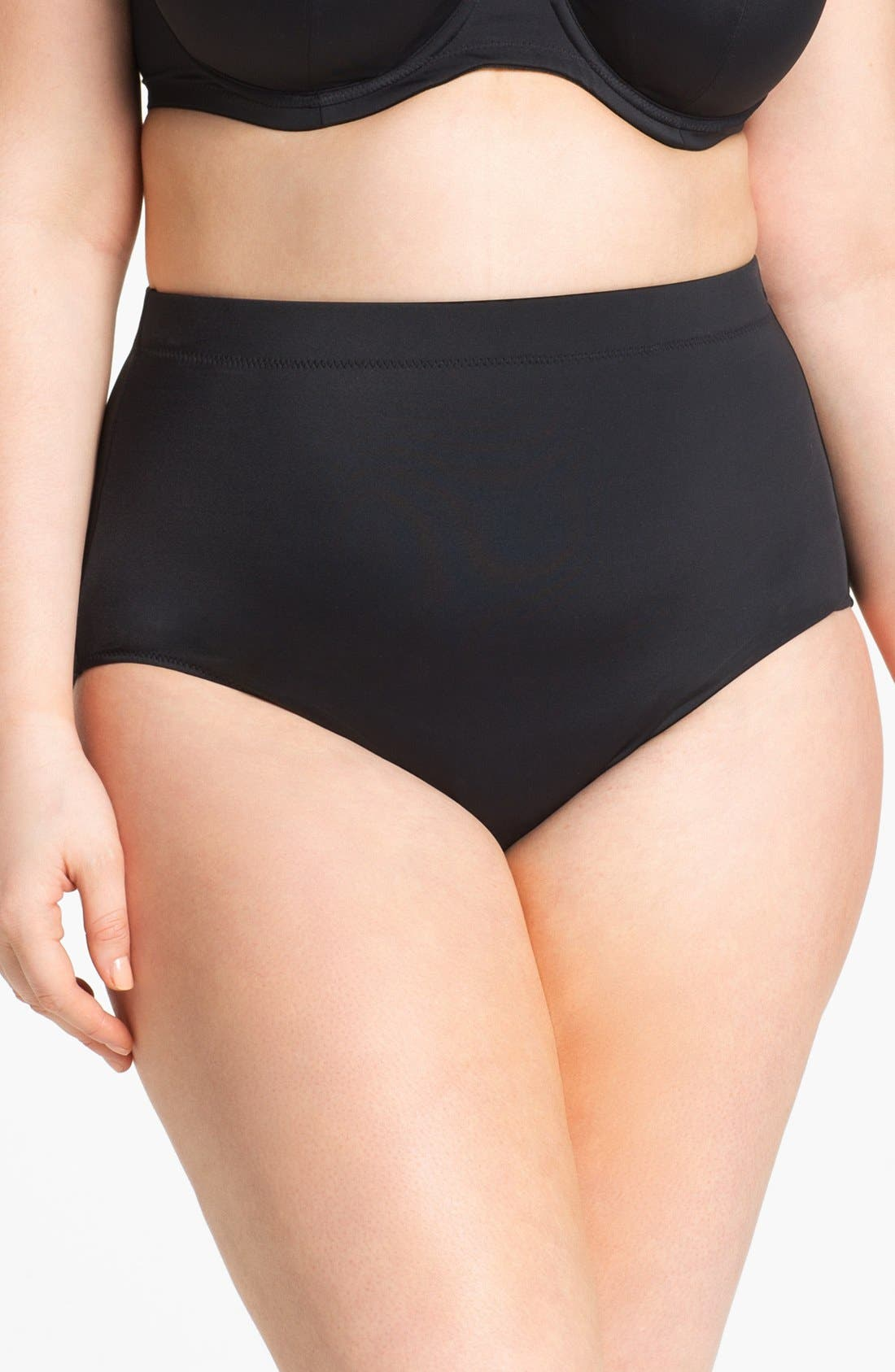 Alternate Image 1 Selected - Elomi 'Elomi Essentials' Classic Swim Briefs (Plus Size)