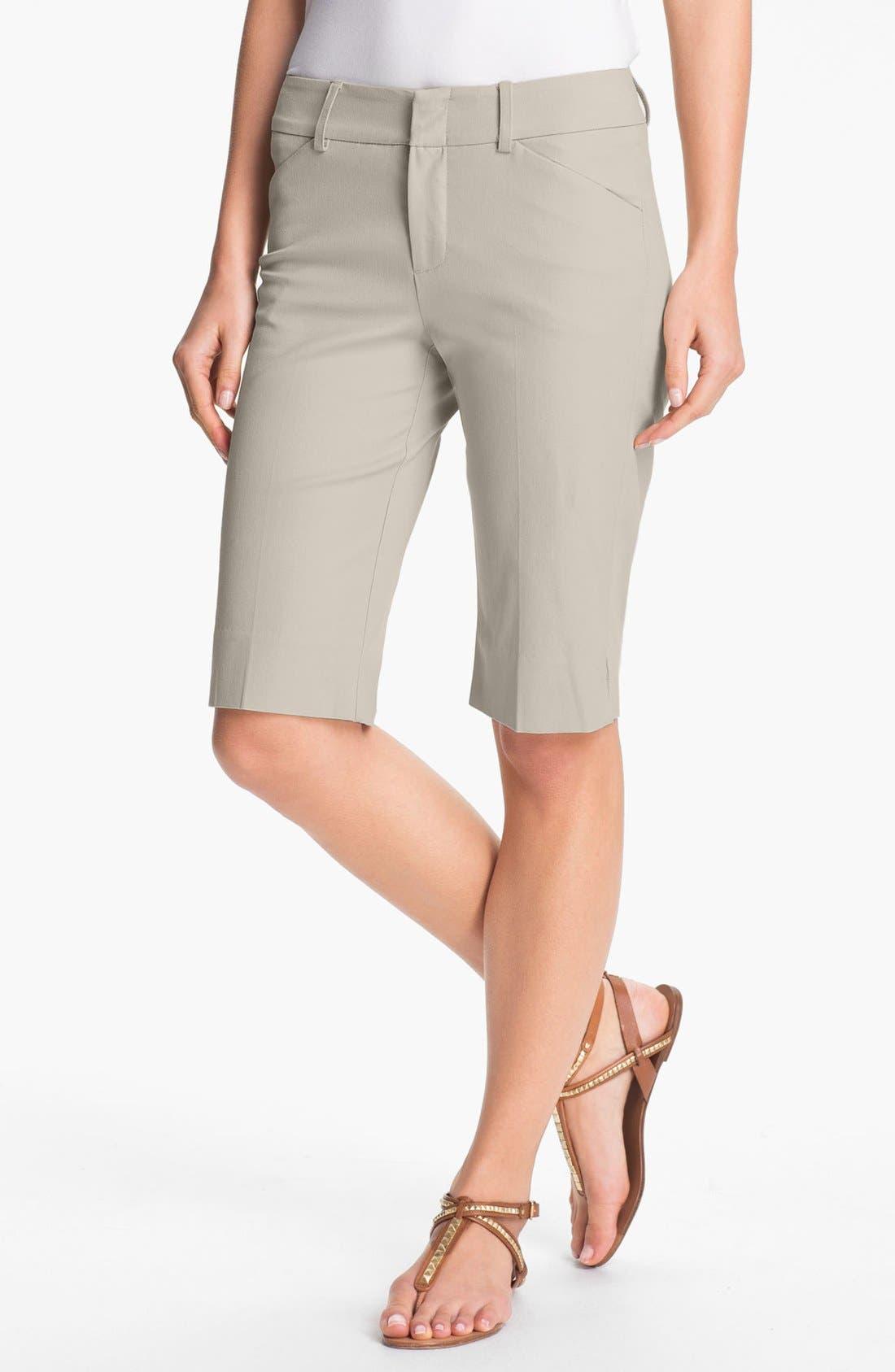 Main Image - AWoman 'Shani' Twill Shorts