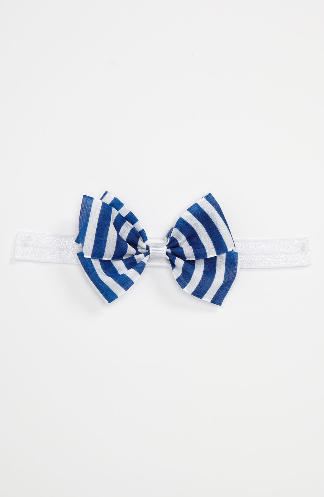 Alternate Image 1 Selected - PLH Bows & Laces Grosgrain Bow Headband (Toddler)