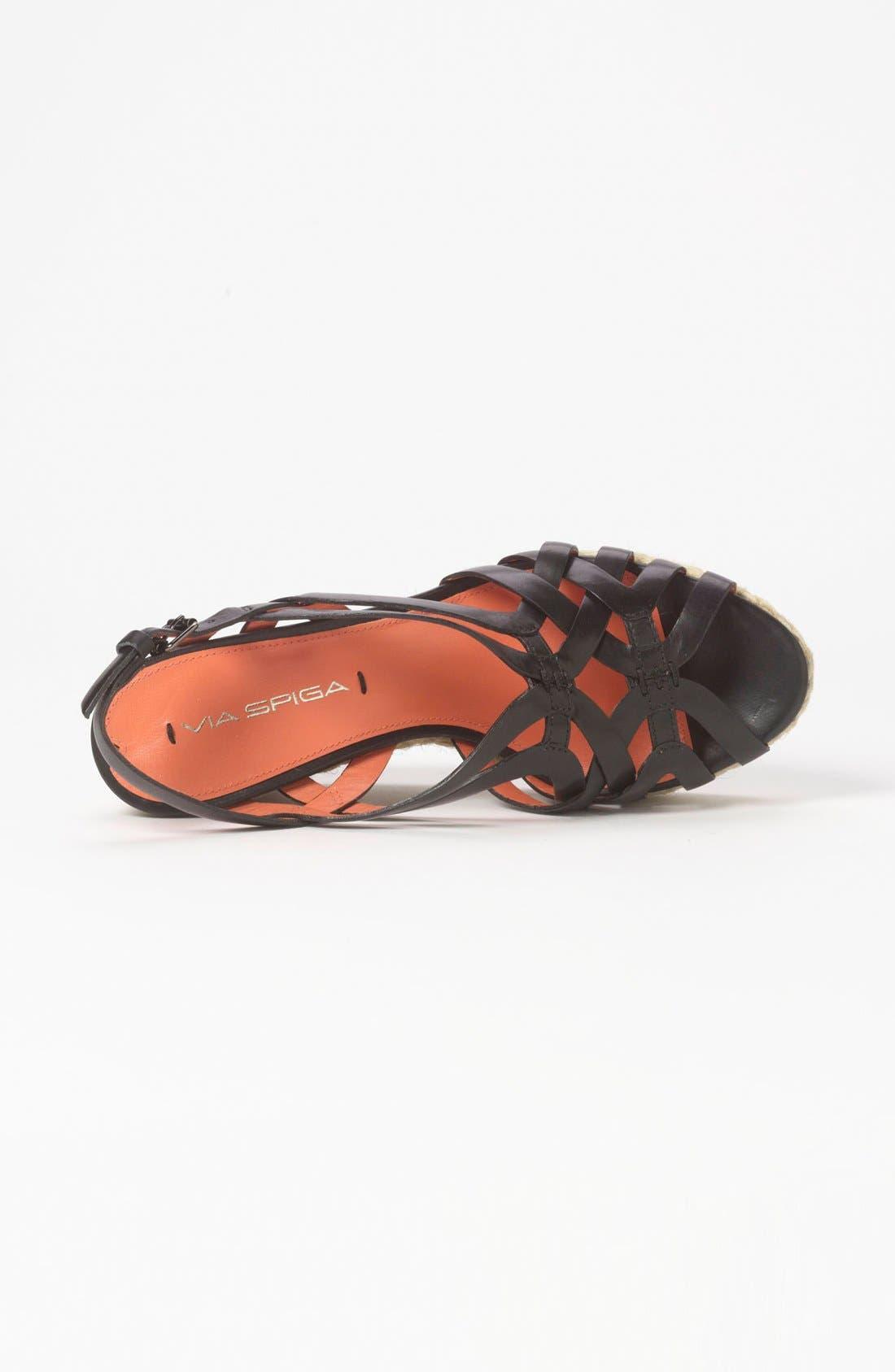 Alternate Image 3  - Via Spiga 'Mabel' Wedge Sandal (Special Purchase)