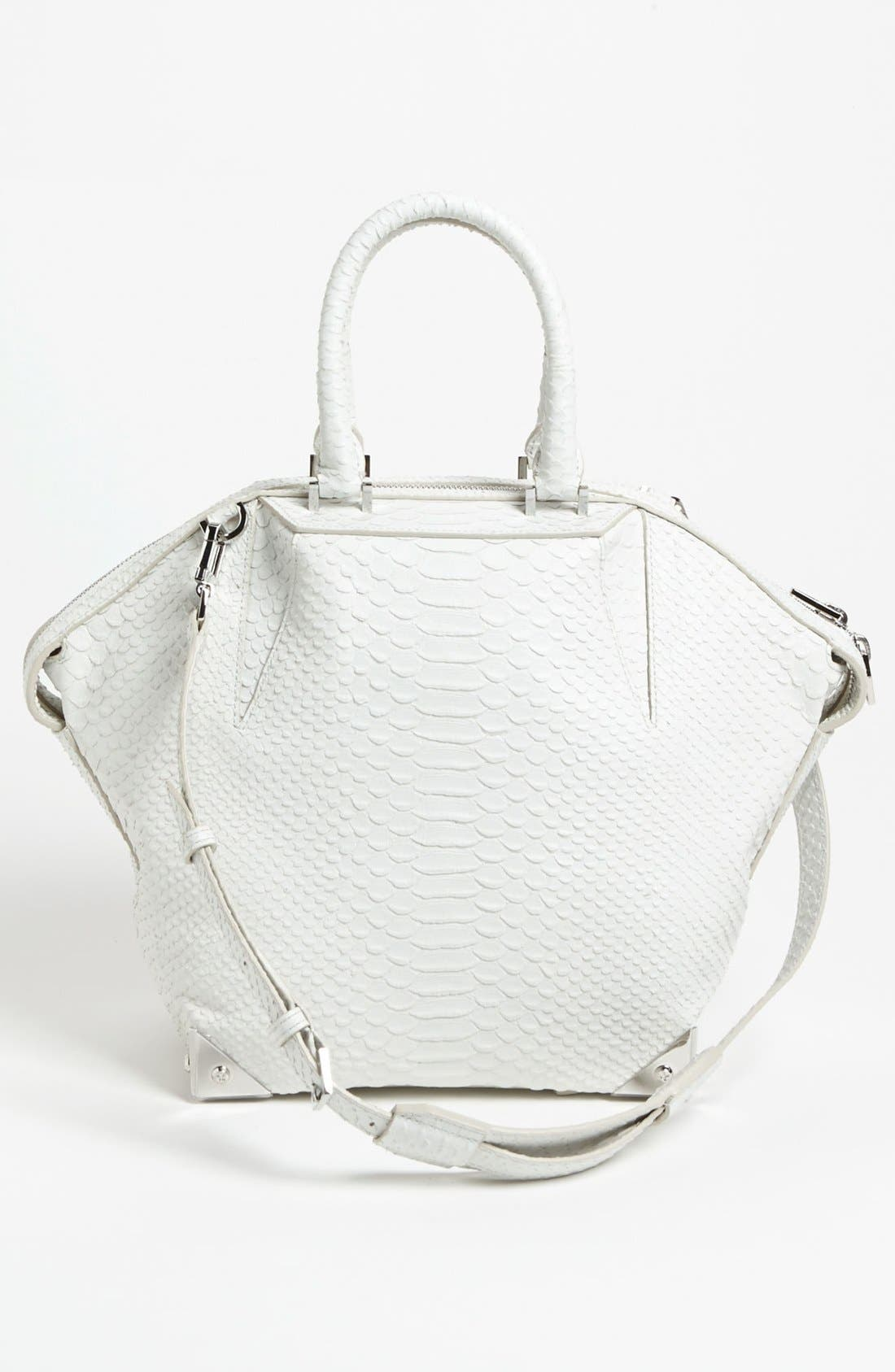 Alternate Image 4  - Alexander Wang 'Emile - Small Prisma' Python Embossed Leather Tote