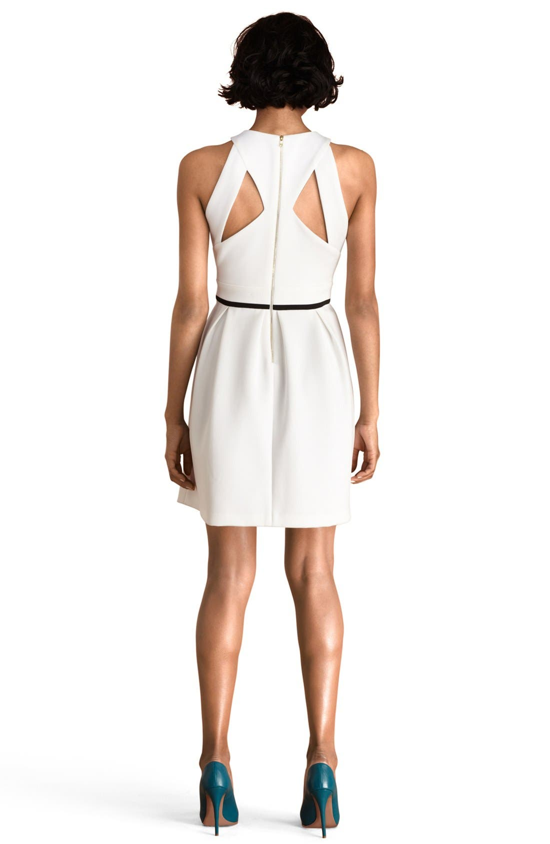 Alternate Image 2  - Donna Morgan Back Cutout Fit & Flare Dress