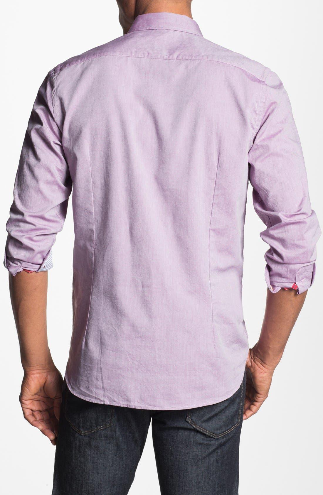 Alternate Image 2  - Ted Baker London 'Oxbid' Trim Fit Sport Shirt