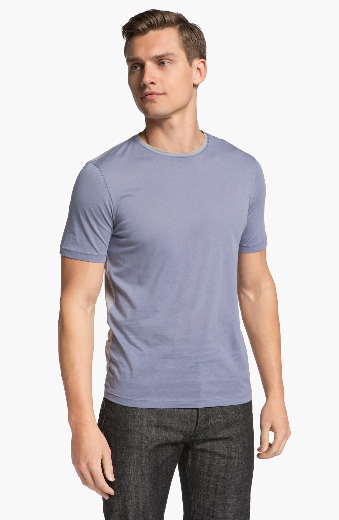 Main Image - Z Zegna Two Tone T-Shirt