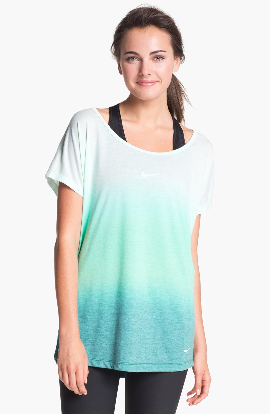 Alternate Image 1 Selected - Nike Dip Dye Dri-FIT Tee