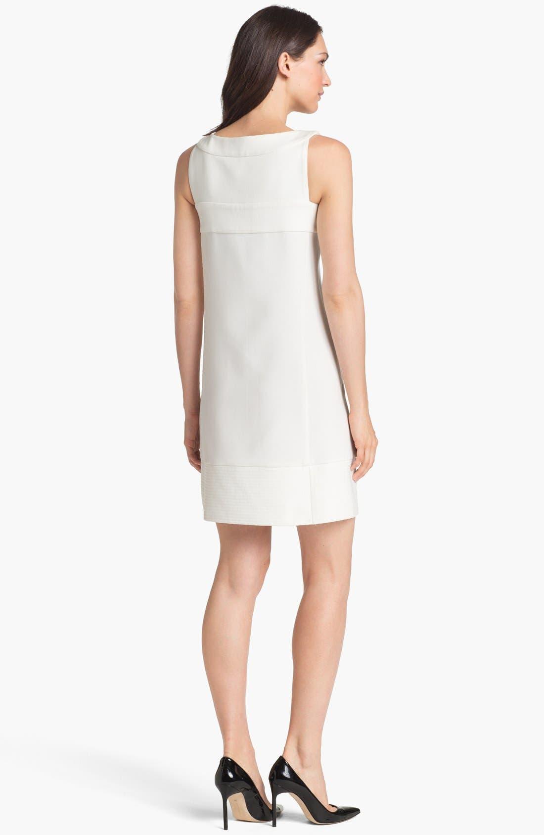 Alternate Image 2  - Rachel Roy Zip Front A-Line Dress