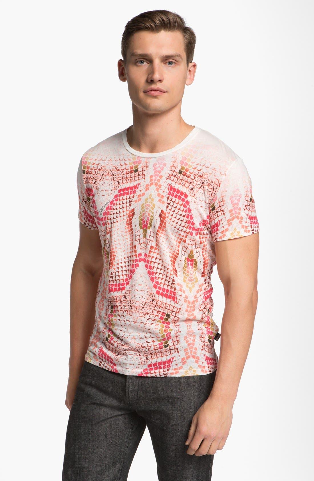 Alternate Image 1 Selected - Just Cavalli Snake Print T-Shirt