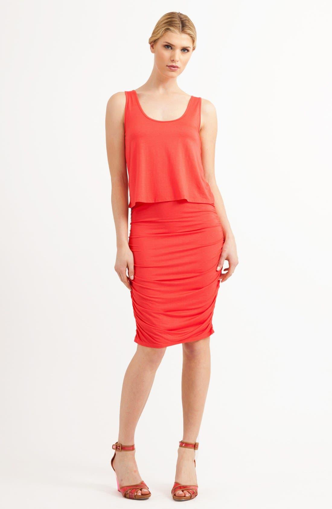 Main Image - Three Dots Drape Bodice Tank Dress