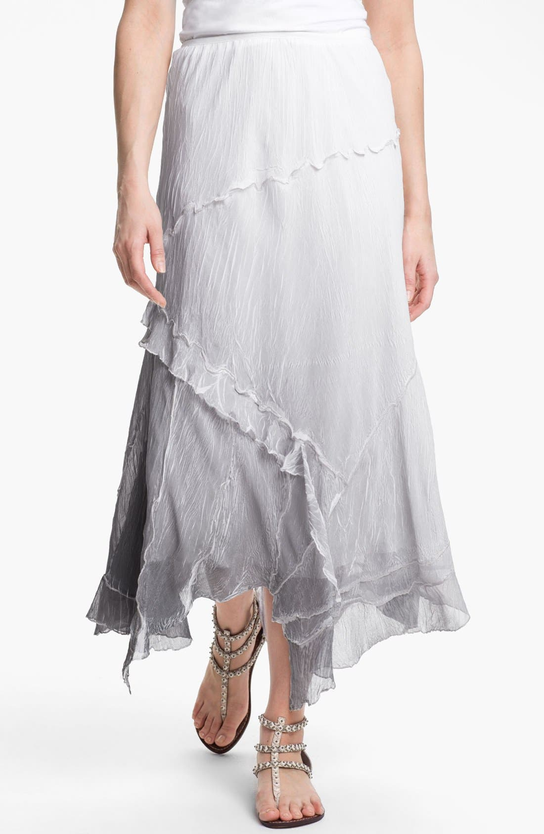 Alternate Image 1 Selected - Komarov Ombré Maxi Skirt