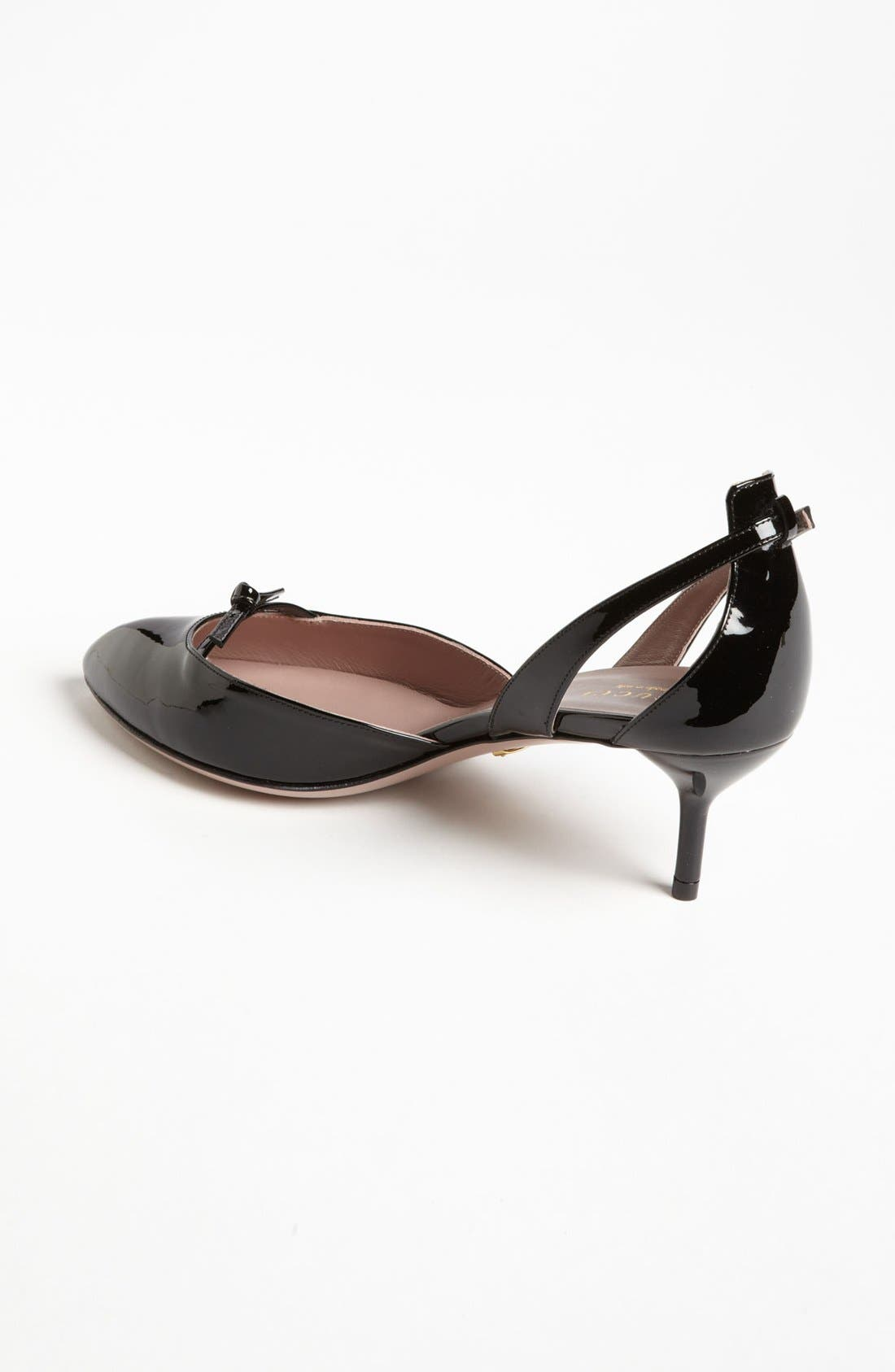 Alternate Image 2  - Gucci 'Beverly' d'Orsay Pump
