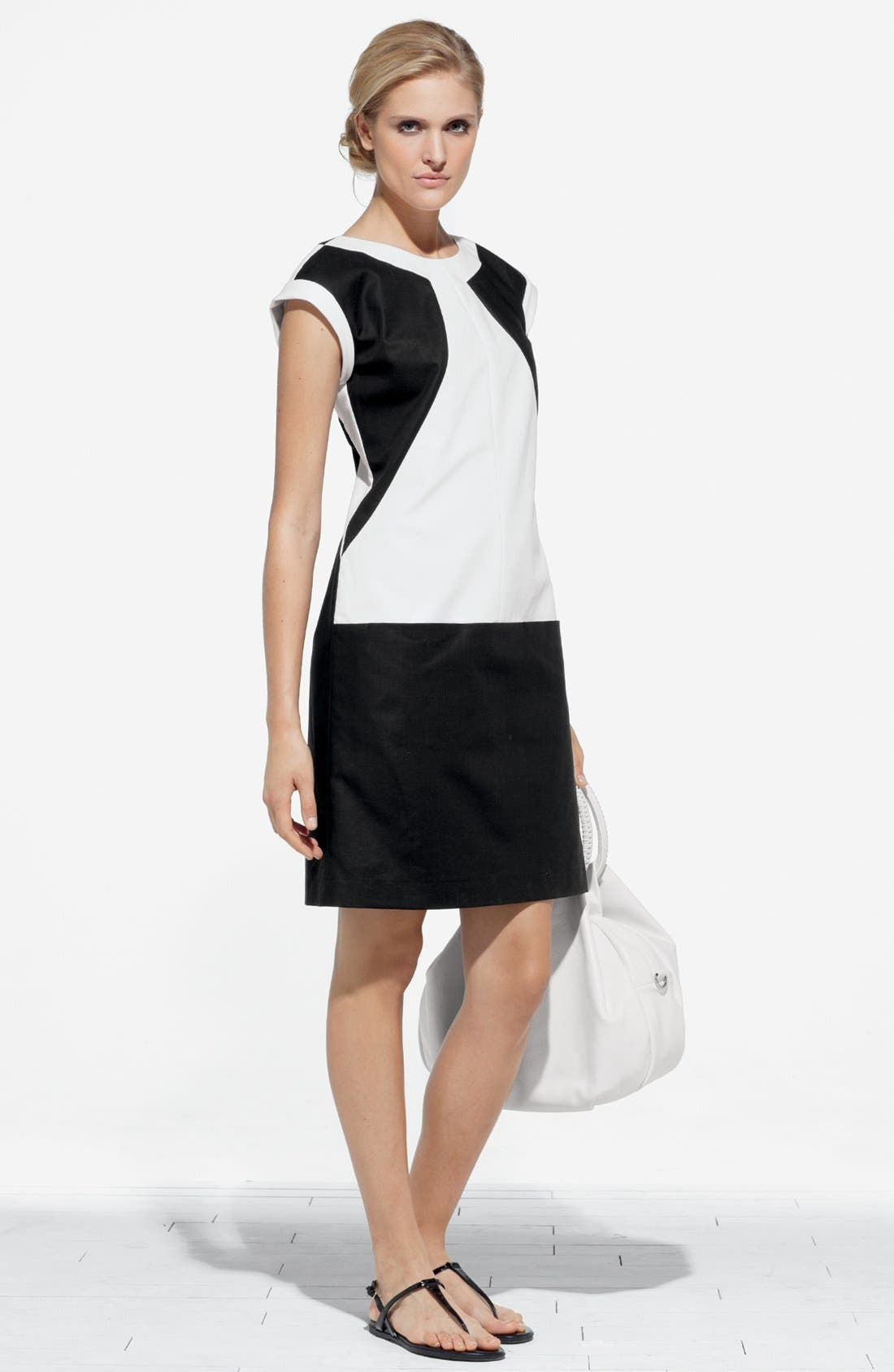 Alternate Image 4  - Lafayette 148 New York 'Dima - Metropolitan Stretch' Dress