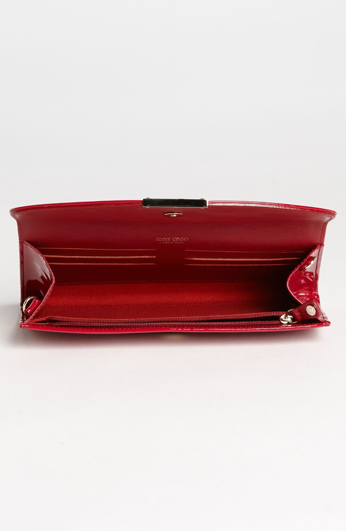 Alternate Image 3  - Jimmy Choo 'Riane' Patent Leather Clutch
