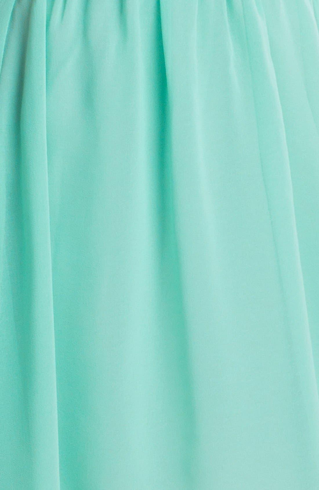 Alternate Image 3  - En Crème High/Low Bustier Dress (Juniors)