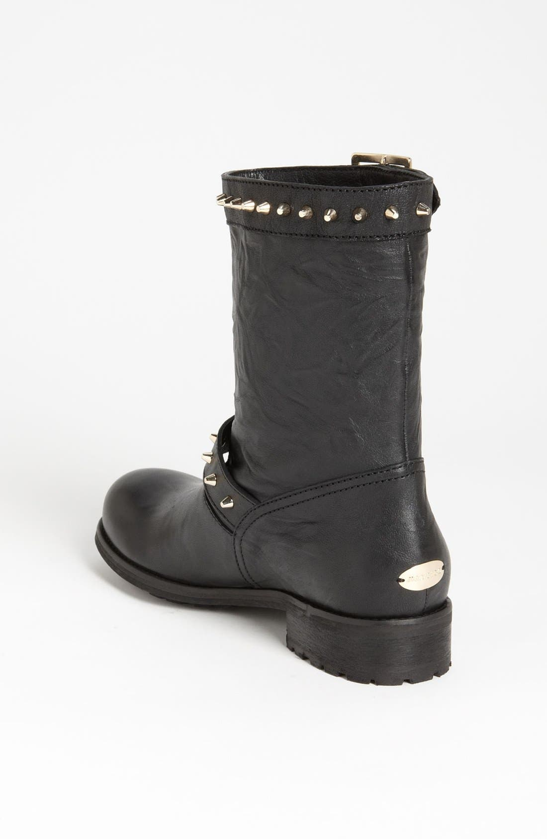 Alternate Image 2  - Jimmy Choo 'Dash' Stud Biker Boot