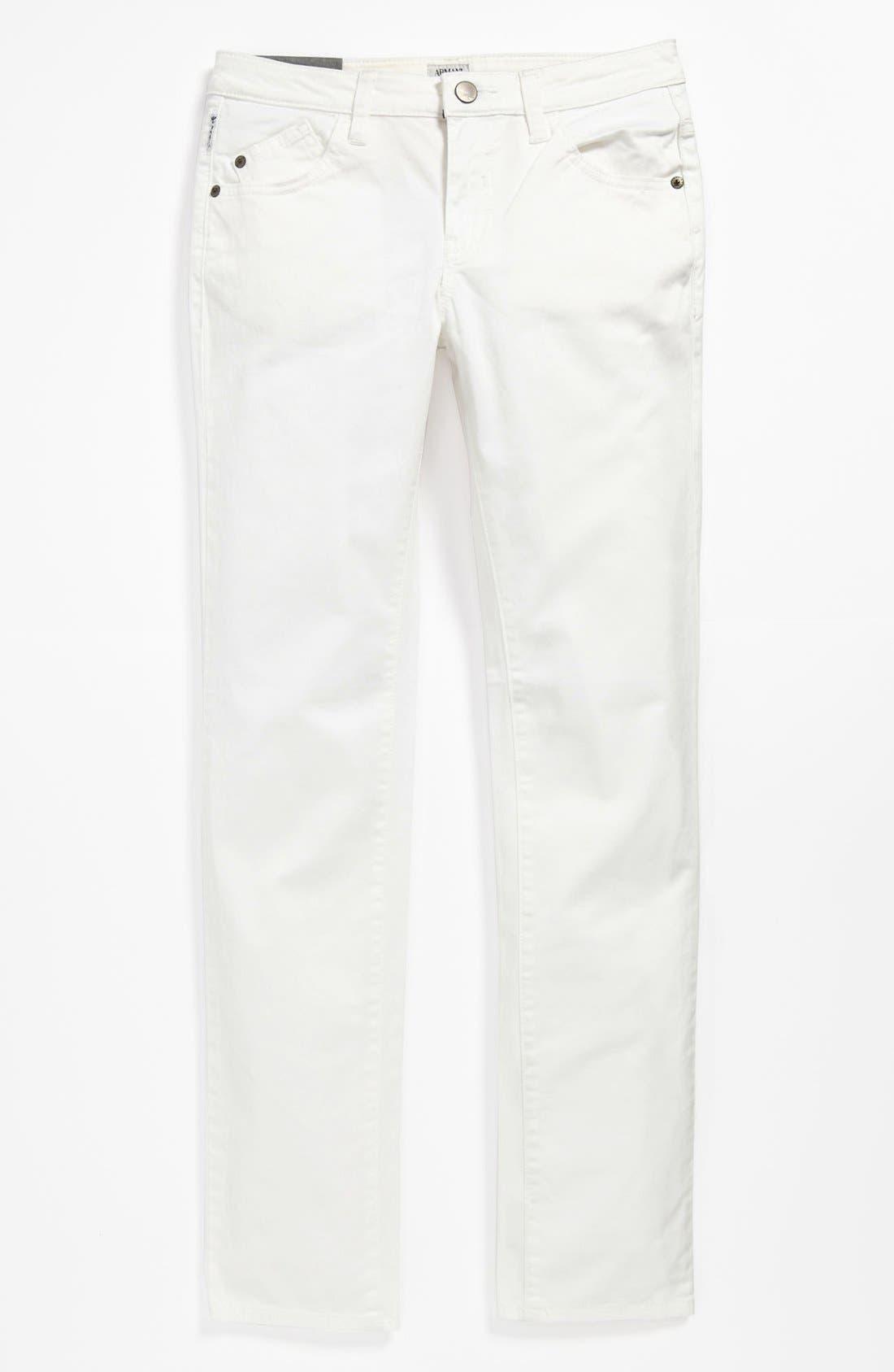 Alternate Image 2  - Armani Junior Straight Leg Jeans (Big Boys)