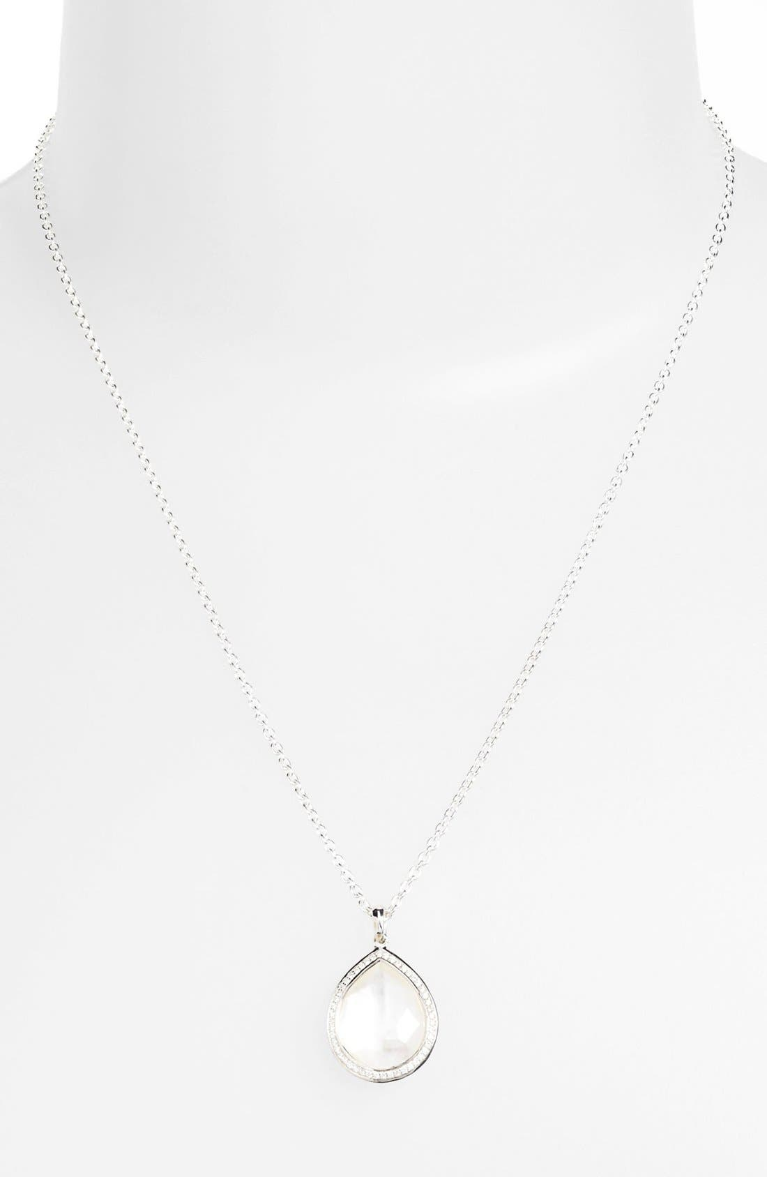 Alternate Image 2  - Ippolita 'Stella' Small Teardrop Pendant Necklace