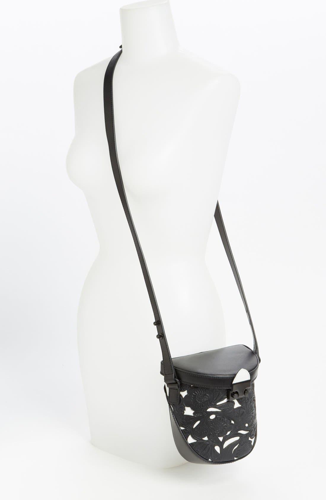 Alternate Image 2  - Loeffler Randall 'Shooter' Leather Crossbody Bag, Small