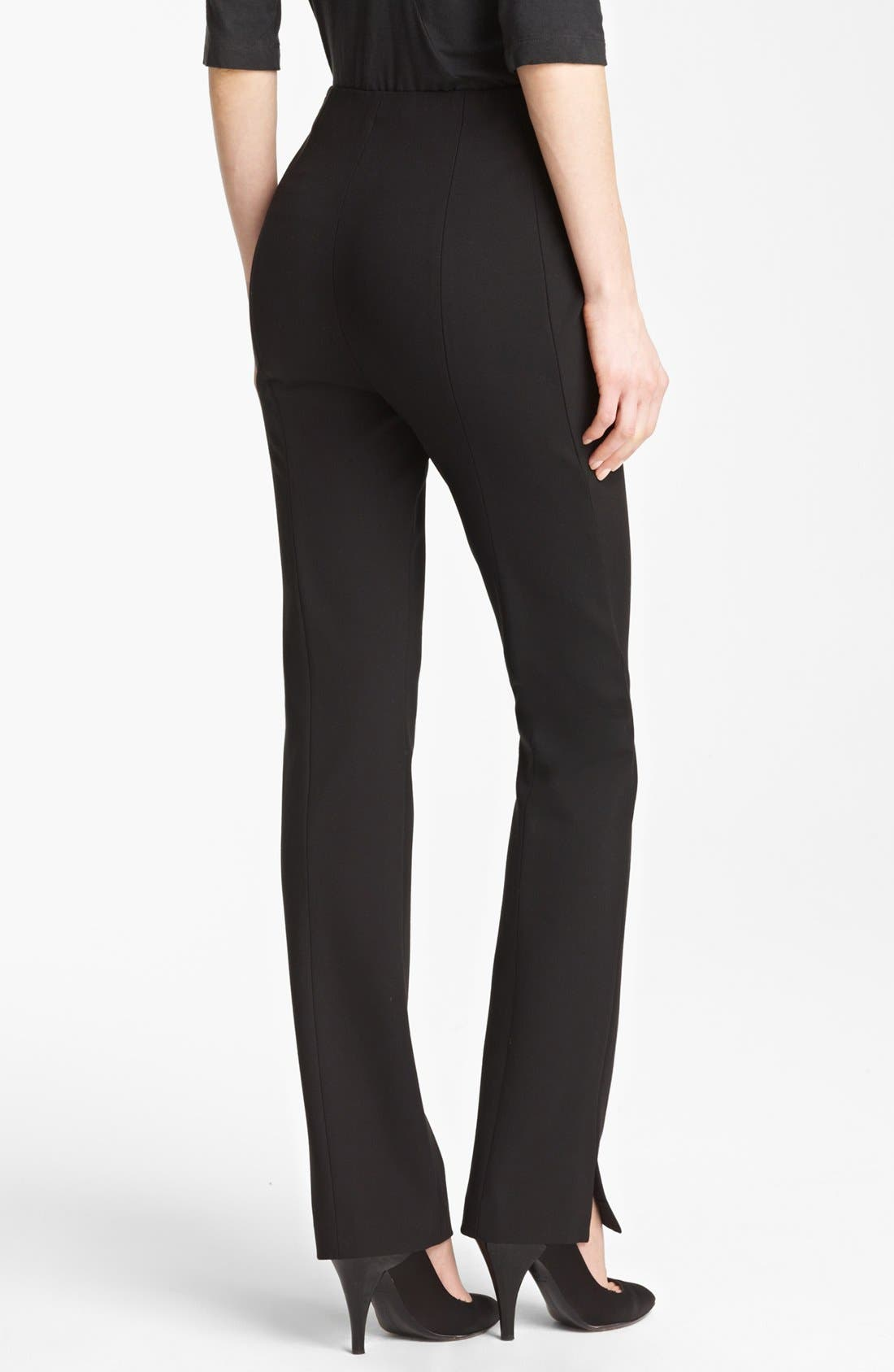 Alternate Image 2  - Donna Karan New York Slim Jersey Pants