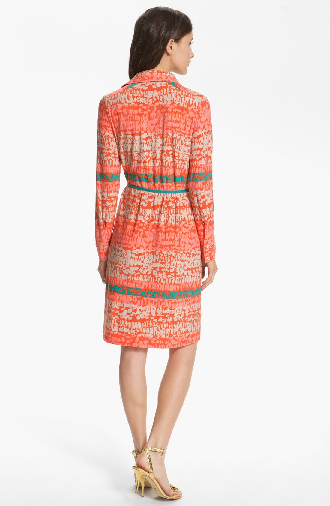 Alternate Image 2  - Anne Klein 'Leo - Stripe' Shirtdress