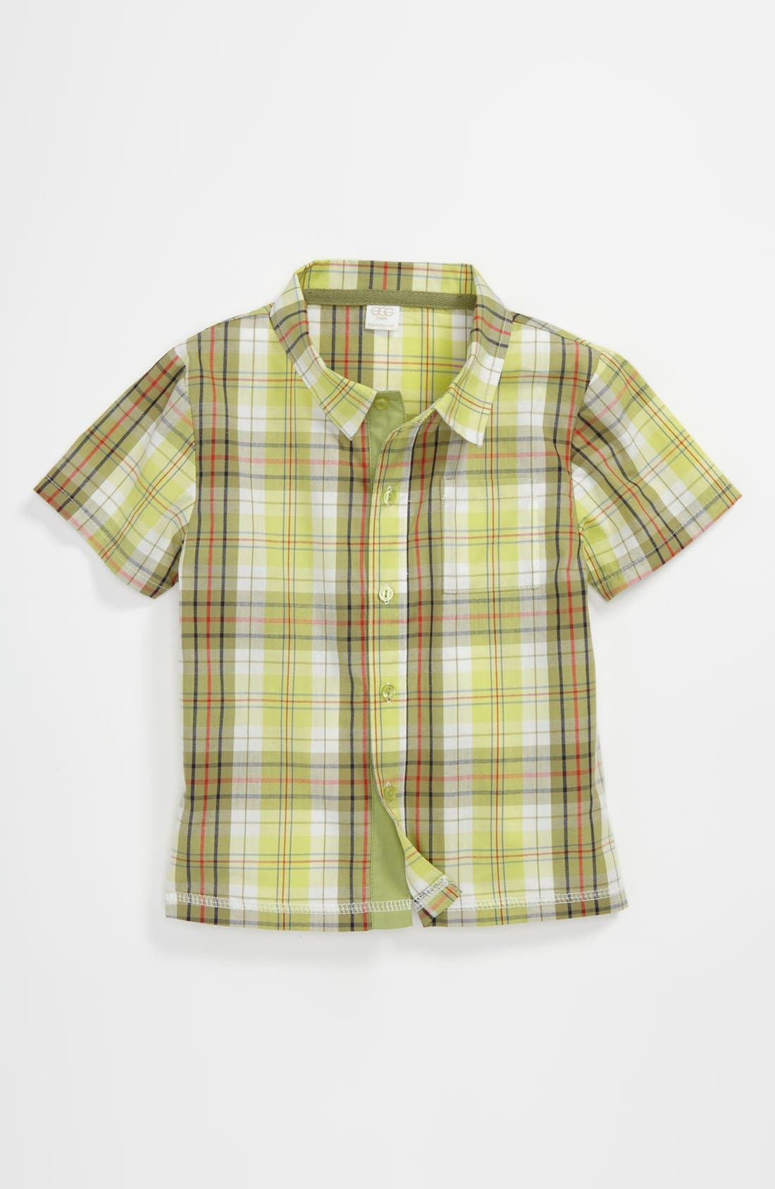 Main Image - egg by susan lazar Woven Shirt (Toddler)