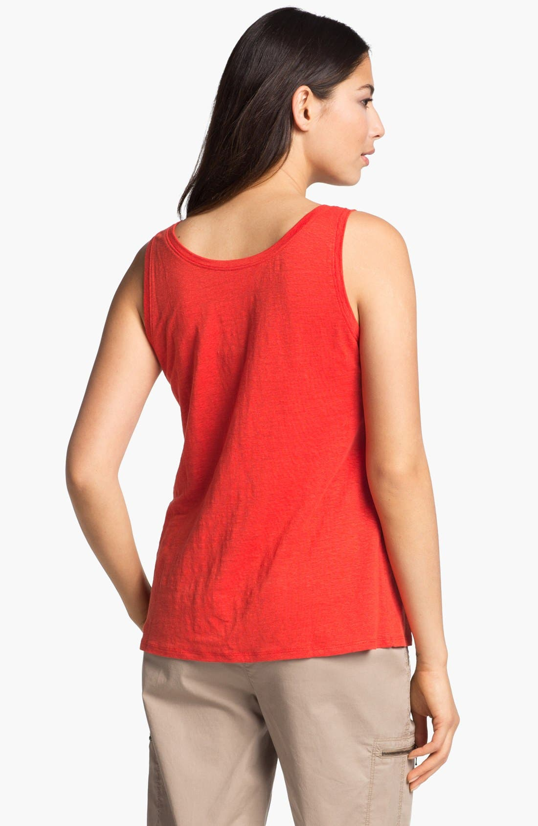Alternate Image 2  - Eileen Fisher Linen Jersey Tank