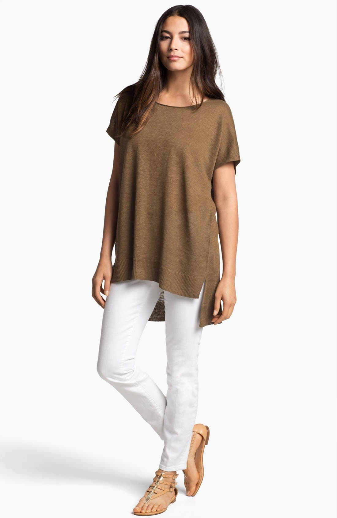 Alternate Image 4  - Eileen Fisher Scoop Neck Dolman Sleeve Tunic
