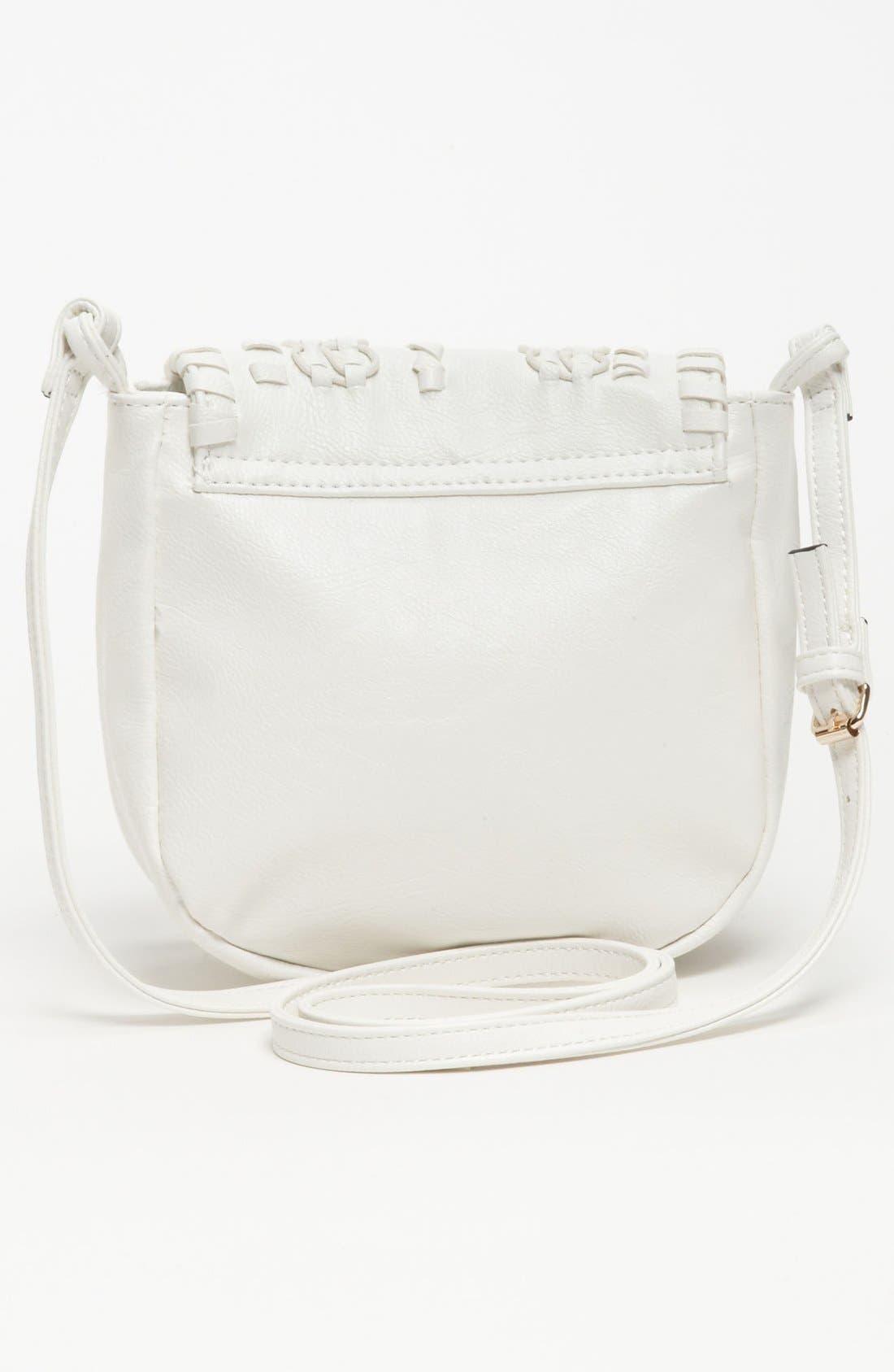 Alternate Image 4  - Big Buddha 'Baker' Faux Leather Crossbody Bag, Small