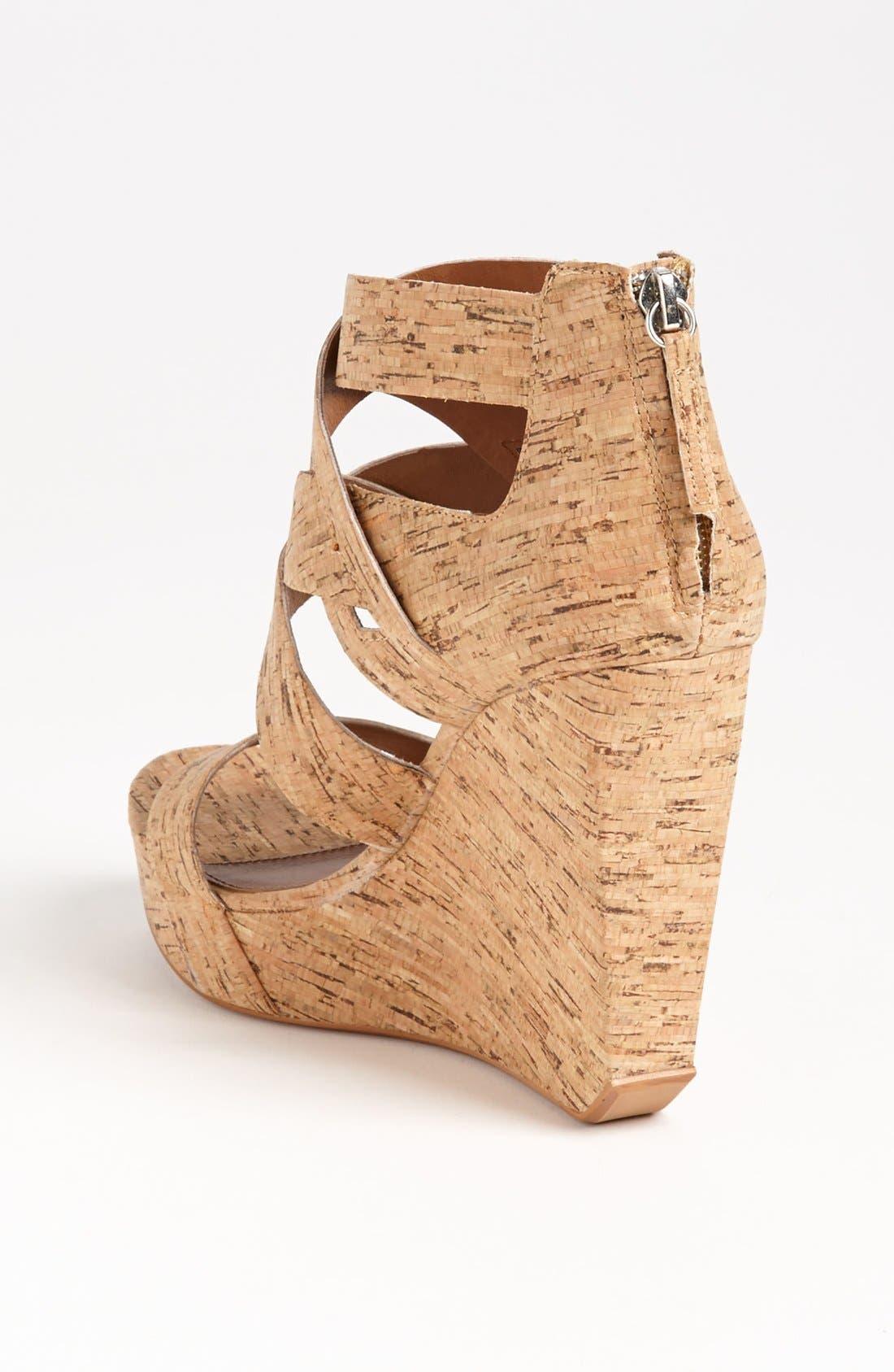 Alternate Image 2  - Matiko 'Crisscross' Wedge Sandal