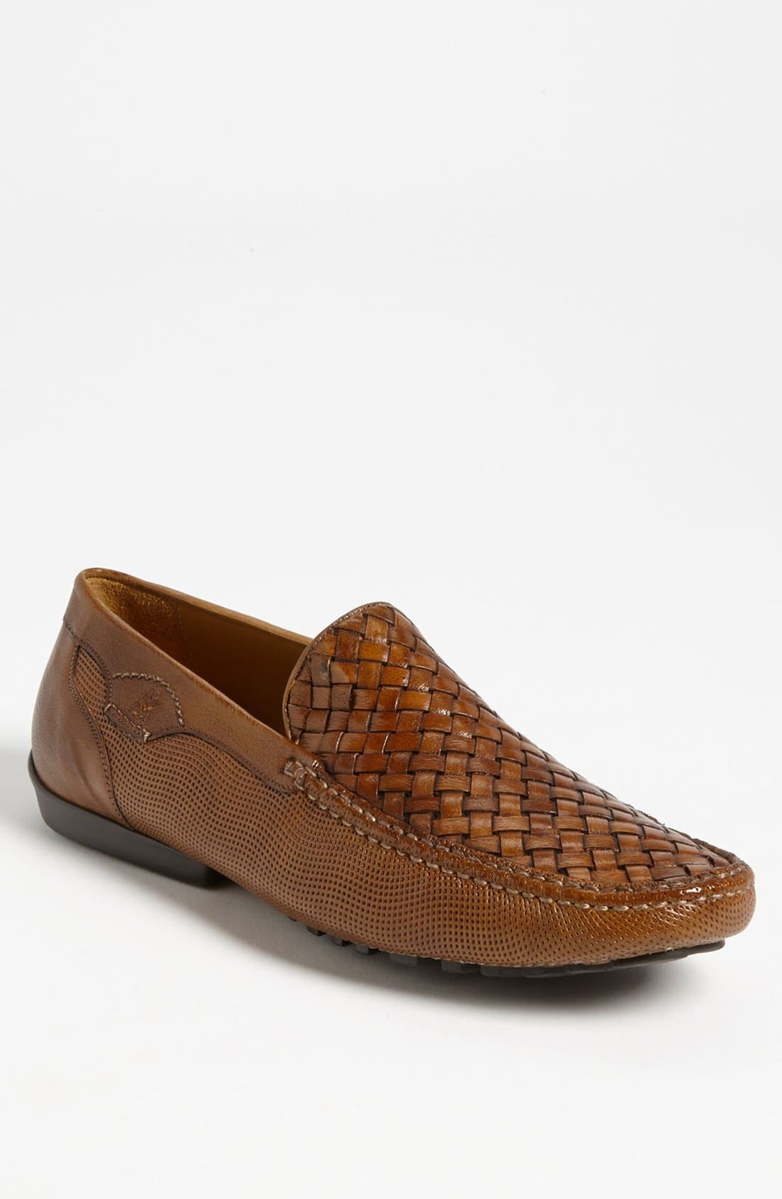 Main Image - Mezlan 'Naldo' Woven Driving Shoe