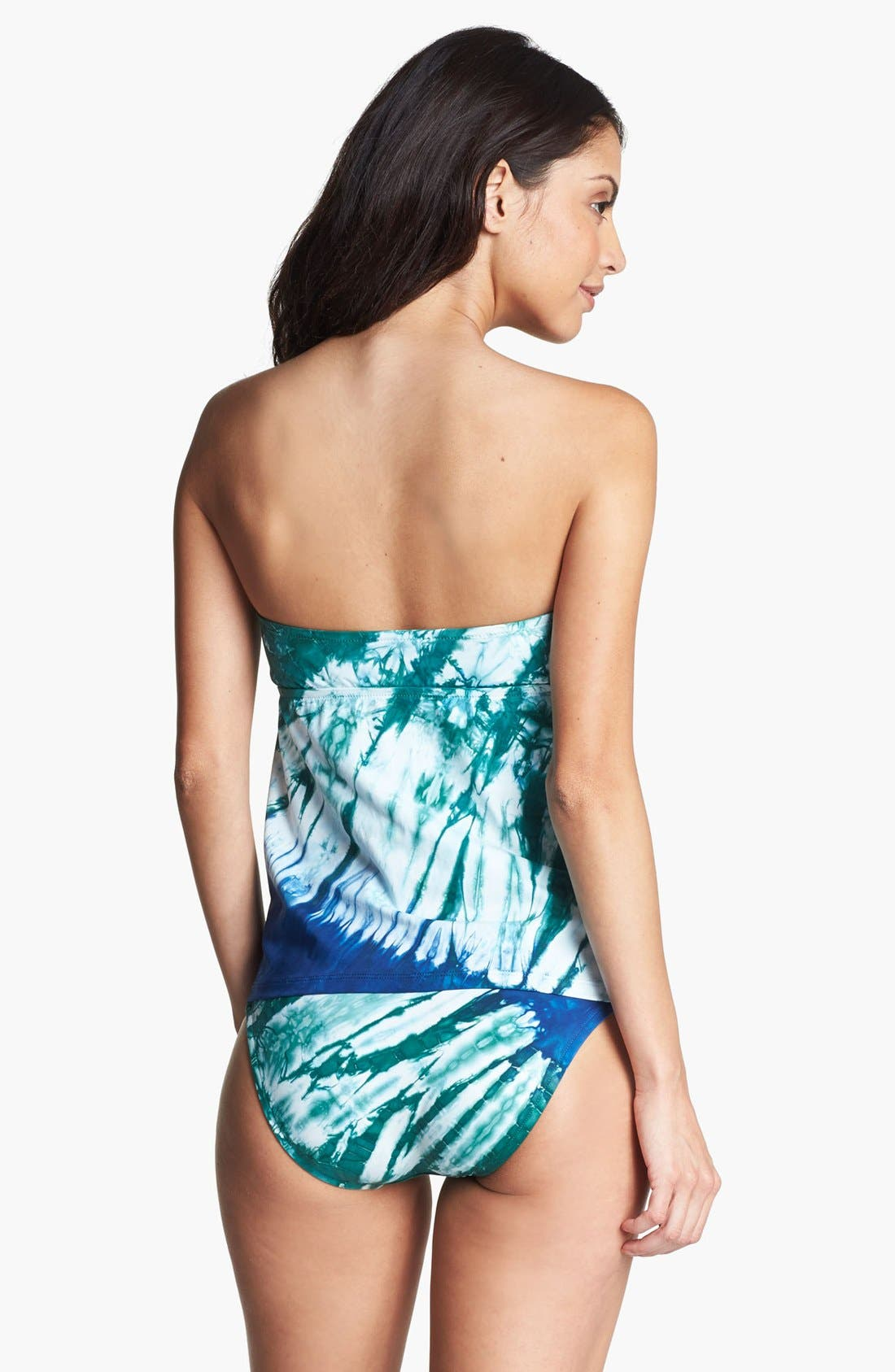 Alternate Image 2  - Lucky Brand Swimwear 'Samba Sea' Bandeau Tankini Top