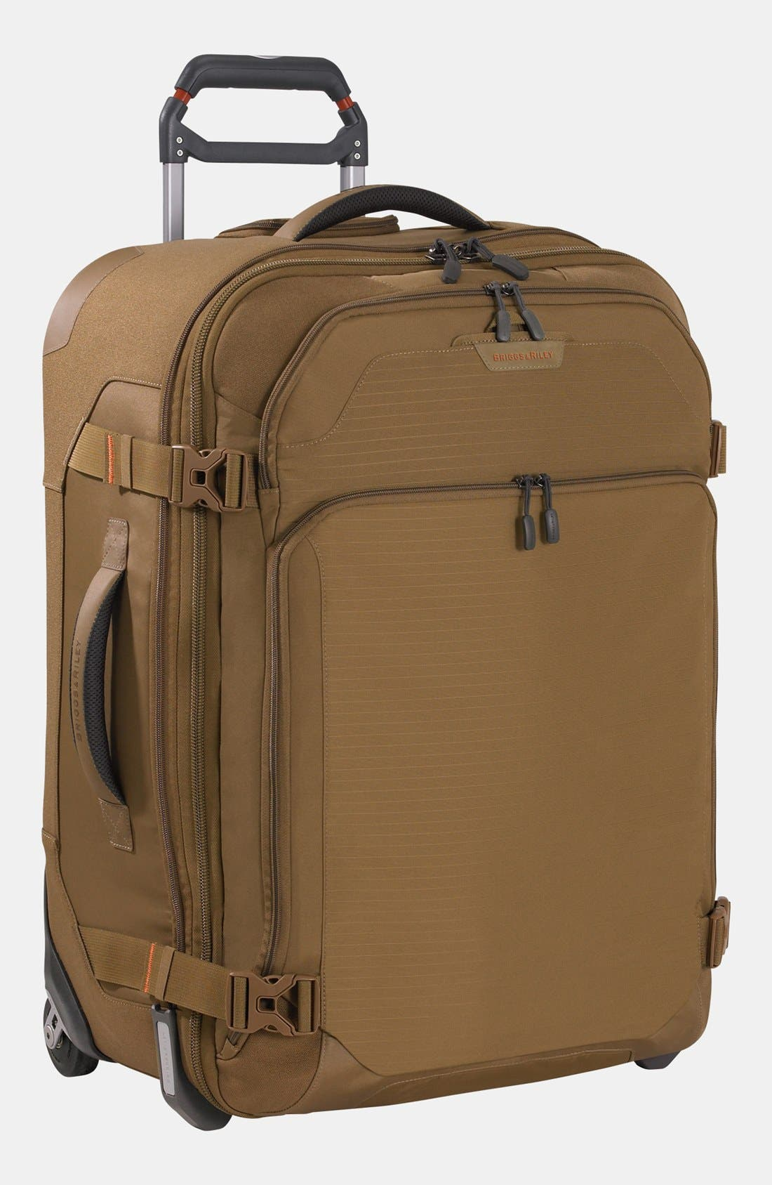Main Image - Briggs & Riley 'Explore' Upright Rolling Suitcase (25 Inch)