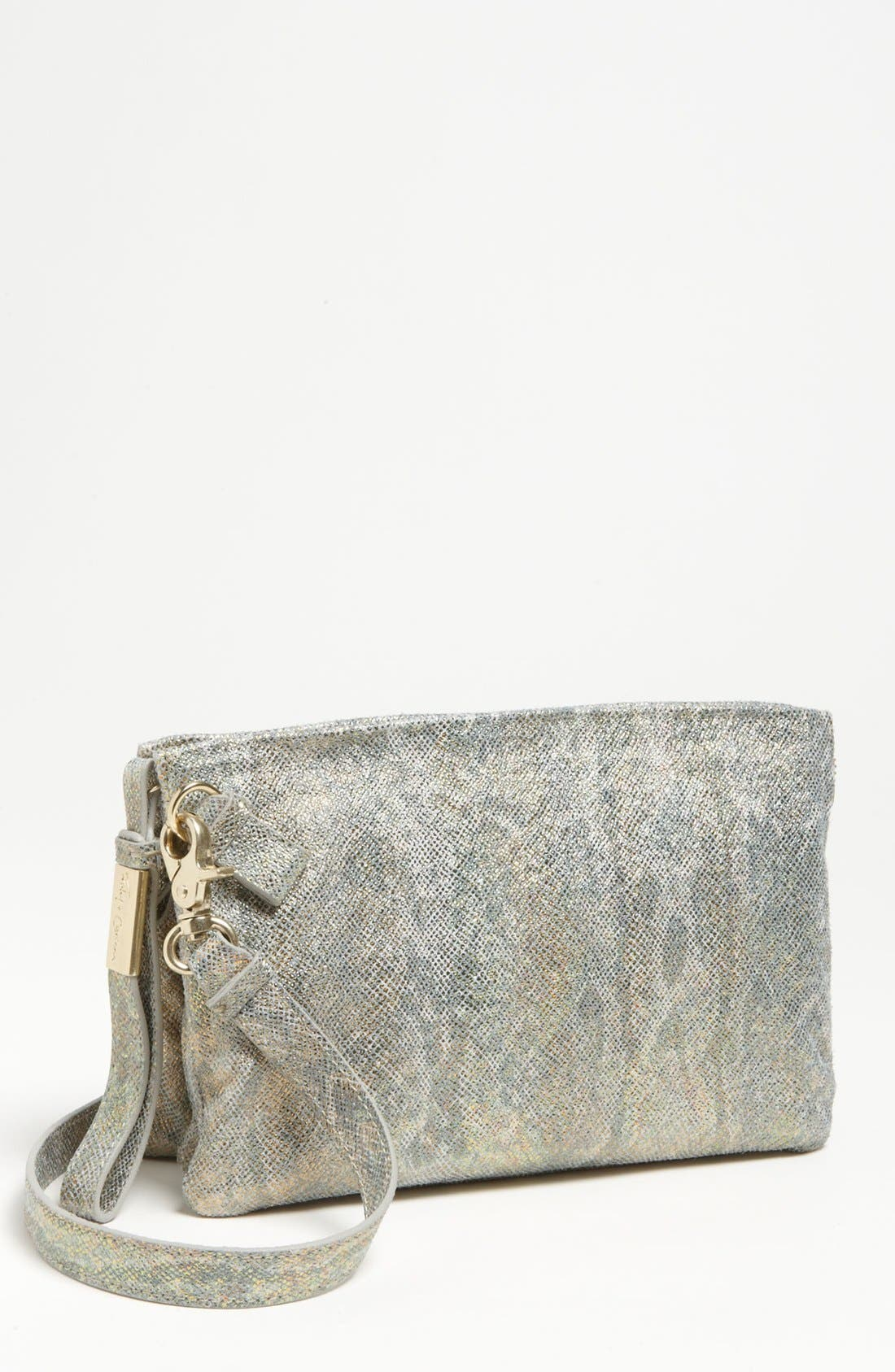 Main Image - Foley + Corinna 'Cache Day' Leather Crossbody Clutch