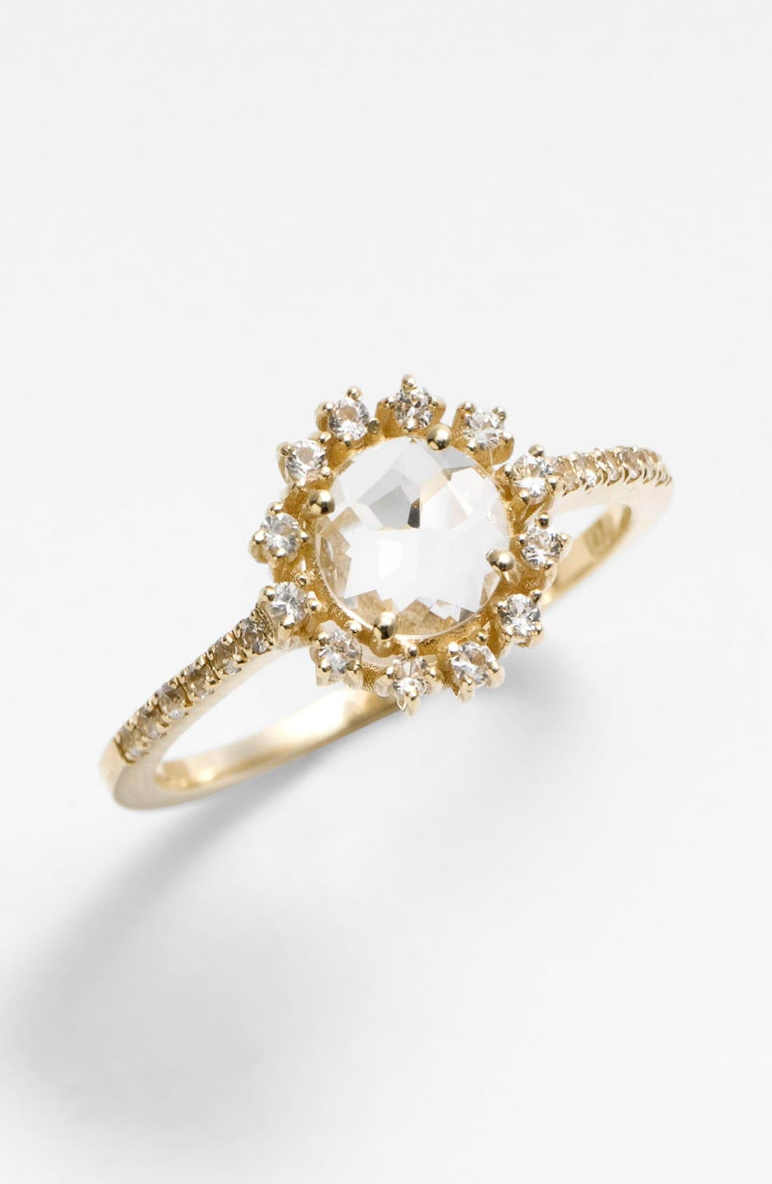 Alternate Image 1 Selected - KALAN by Suzanne Kalan Round Antique Bezel Ring
