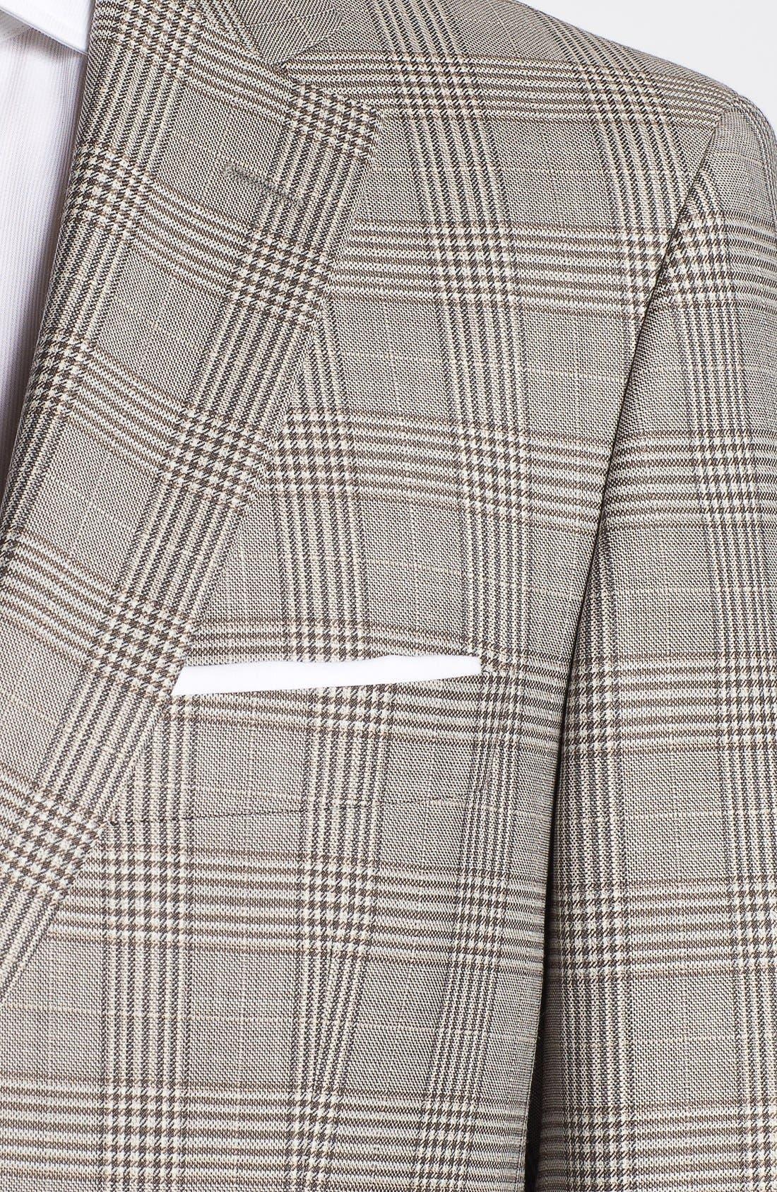 Alternate Image 2  - BOSS HUGO BOSS 'Pasini' Glen Plaid Sportcoat