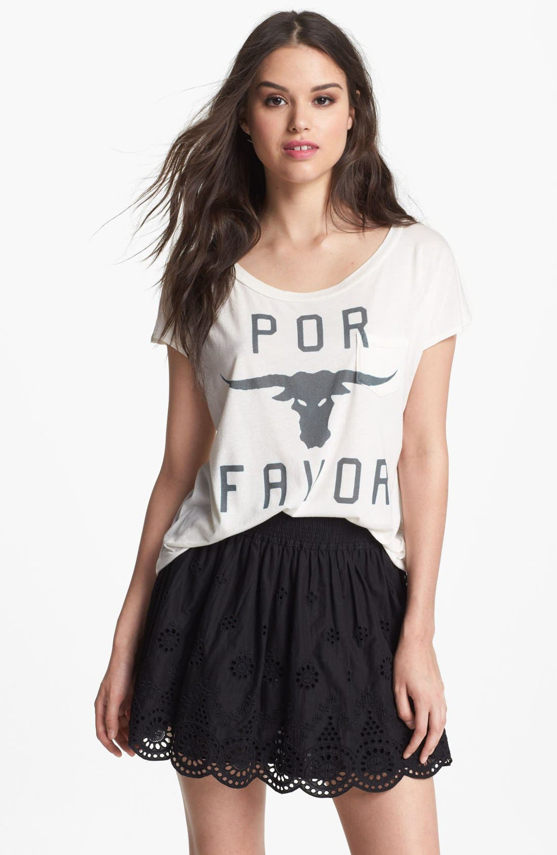 Alternate Image 1 Selected - Sol Angeles 'Por Favor' Tee