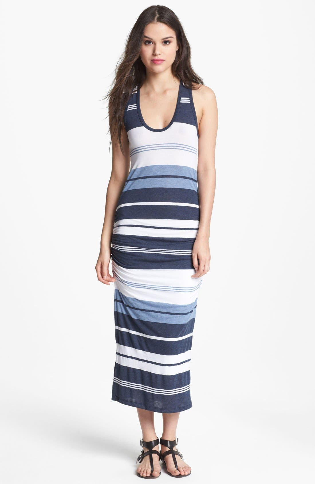 Main Image - James Perse 'Pacific Stripe' Racerback Dress