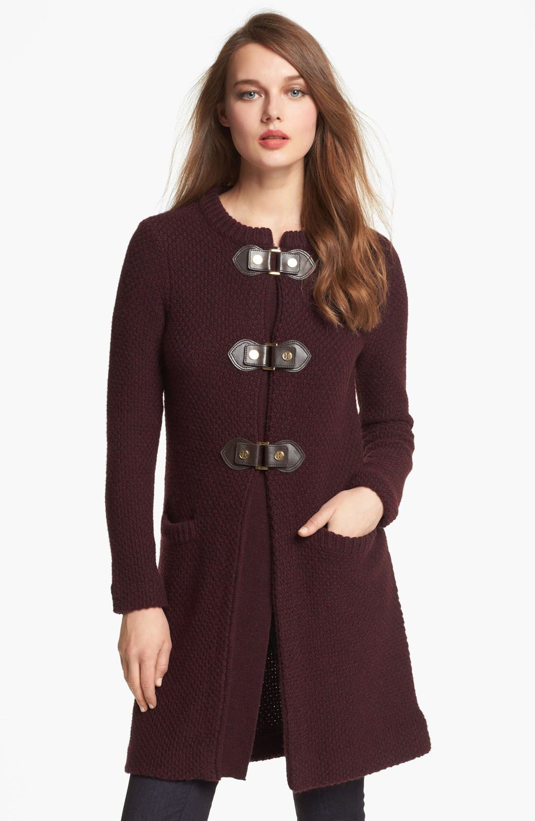 Alternate Image 1 Selected - Tory Burch 'Colette' Sweater Coat