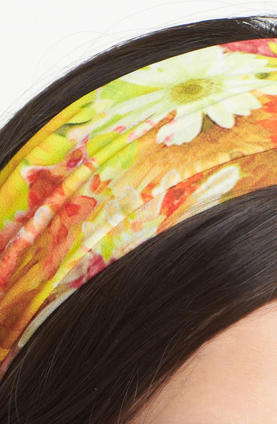 Alternate Image 2  - Tasha 'Big Bouquet' Head Wrap