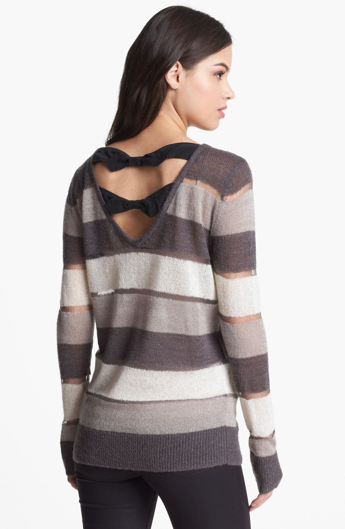 Alternate Image 2  - Hinge® Bow Back Sweater