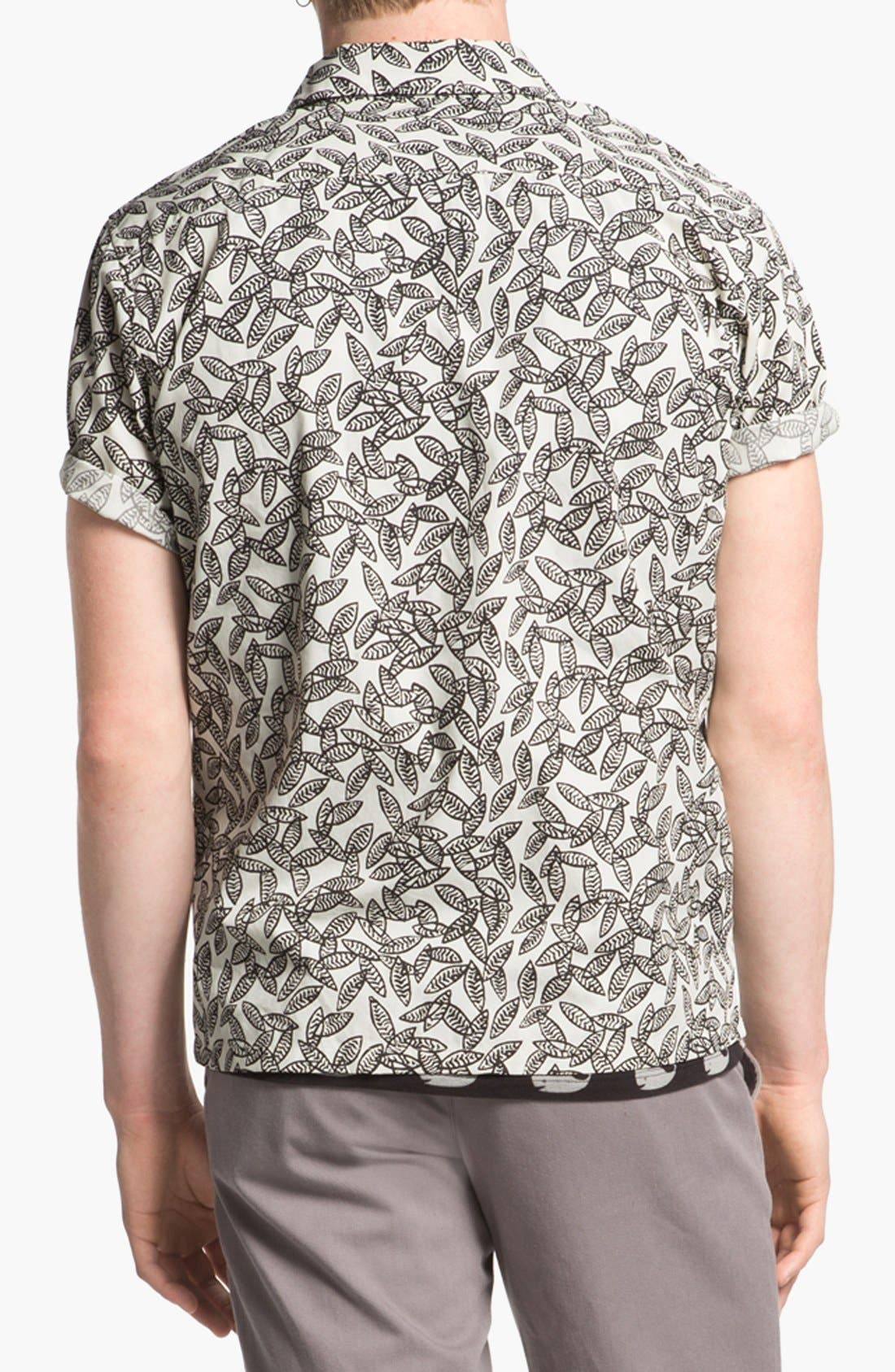 Alternate Image 2  - Brixton 'Griffin' Print Woven Camp Shirt