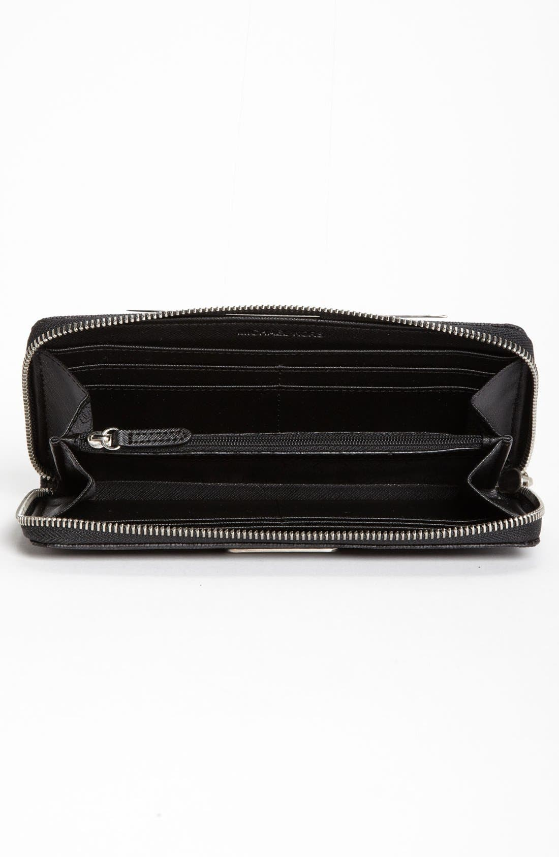 Alternate Image 2  - MICHAEL Michael Kors 'Signature' Zip Around Wallet