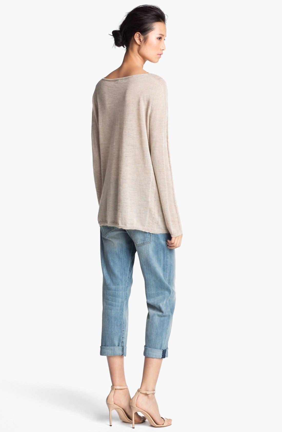 Alternate Image 2  - Halston Heritage Linen Sweater