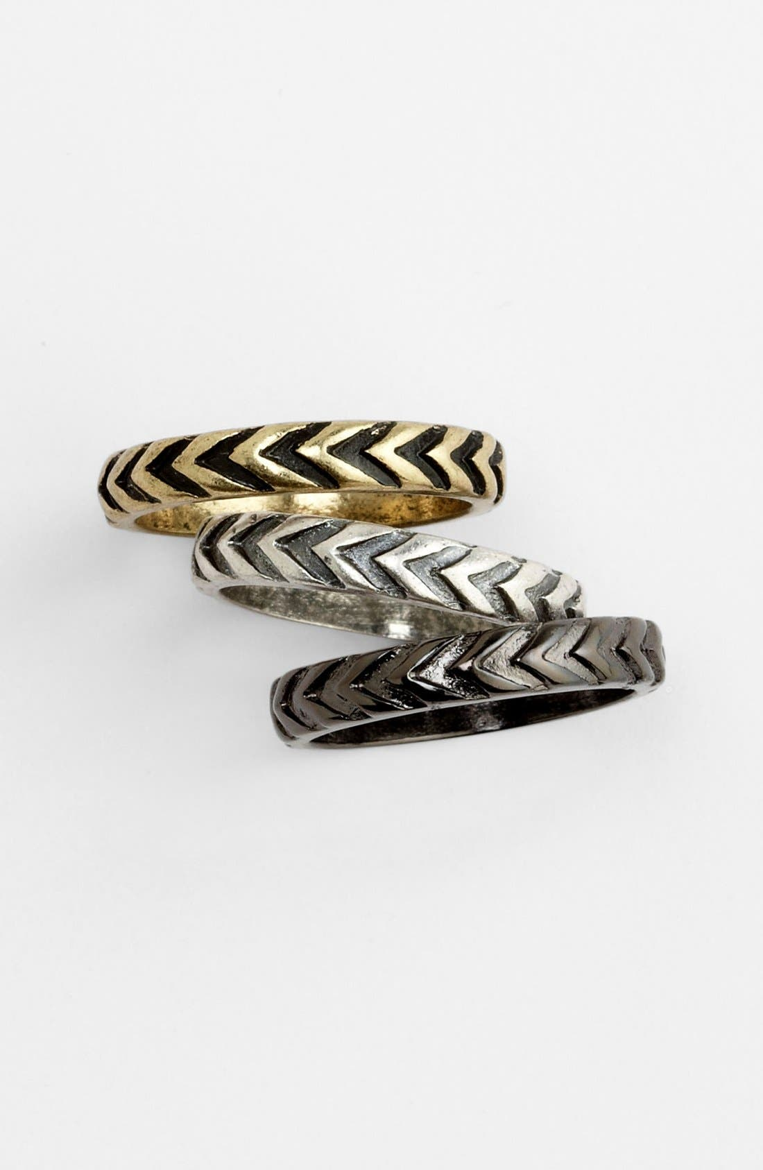 Main Image - Carole Stackable Rings (Set of 3)