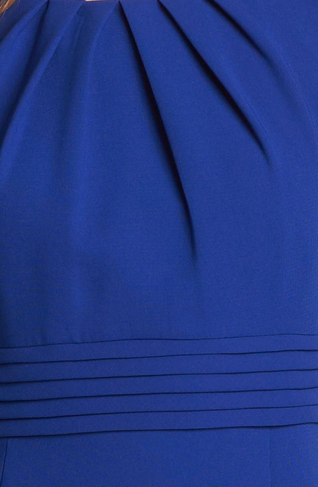 Alternate Image 3  - Tahari by Arthur S. Levine Sleeveless Crepe Sheath Dress (Regular & Petite)