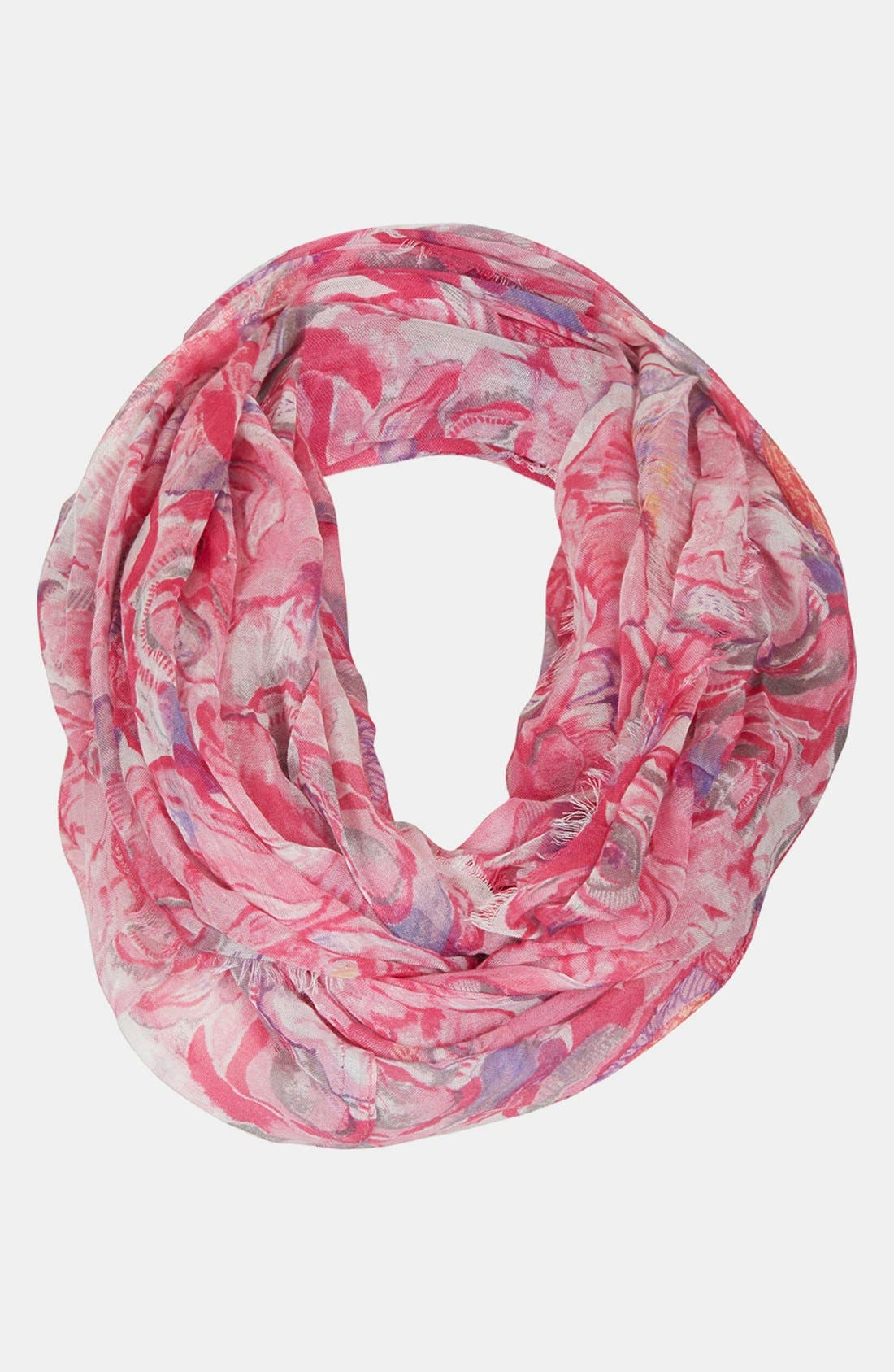 Alternate Image 1 Selected - Topshop 'Beauty Floral' Infinity Scarf