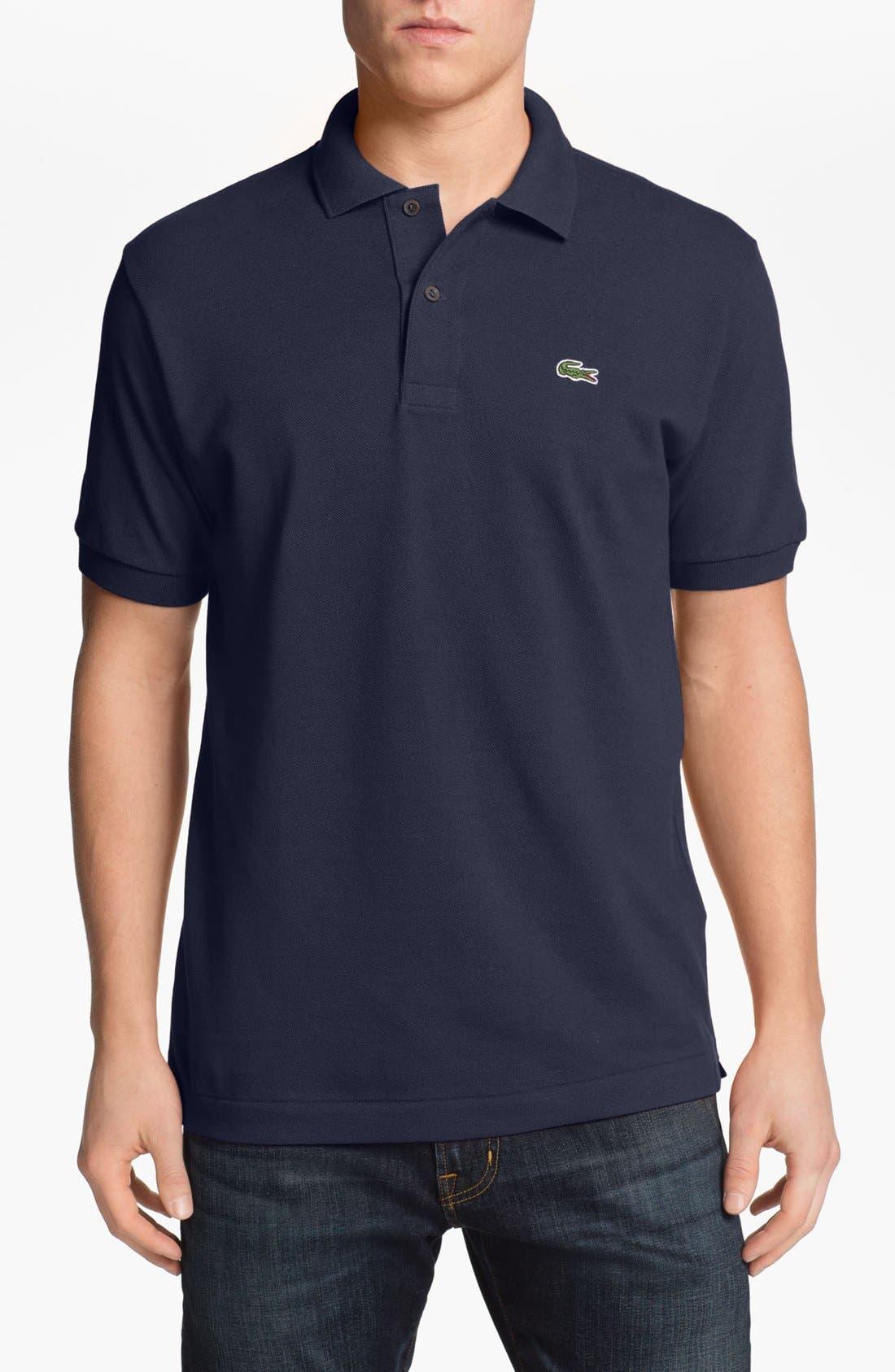 Main Image - Lacoste Classic Piqué Polo (Tall)